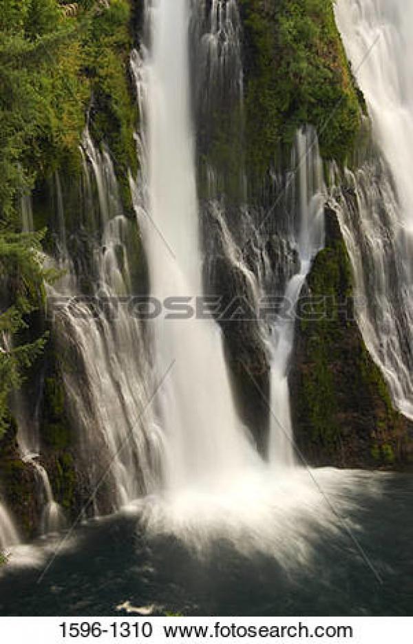 Burney Falls clipart