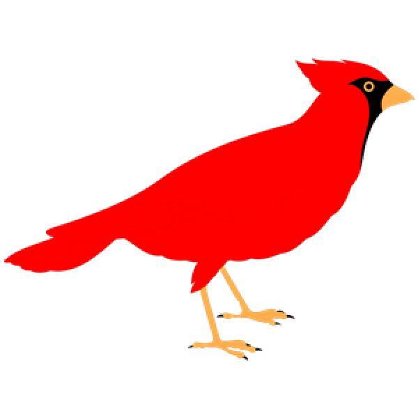 Northern Cardinal svg