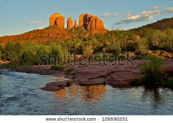 Cathedral Rock clipart
