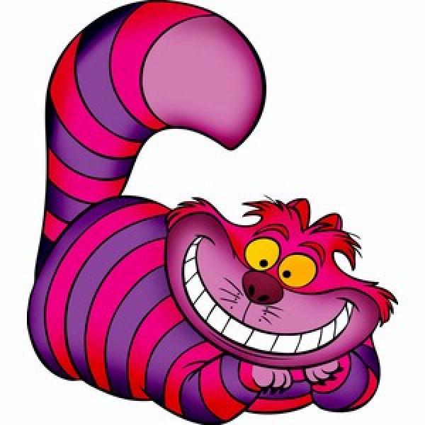 preview Cheshire Cat clipart
