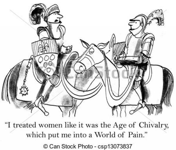 Chivalry clipart