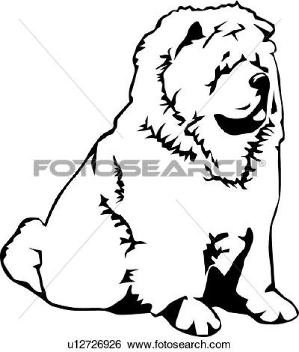 Chow Chow clipart