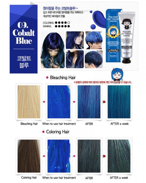 Cobalt coloring