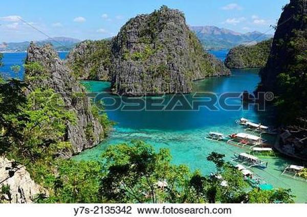 Coron Island clipart