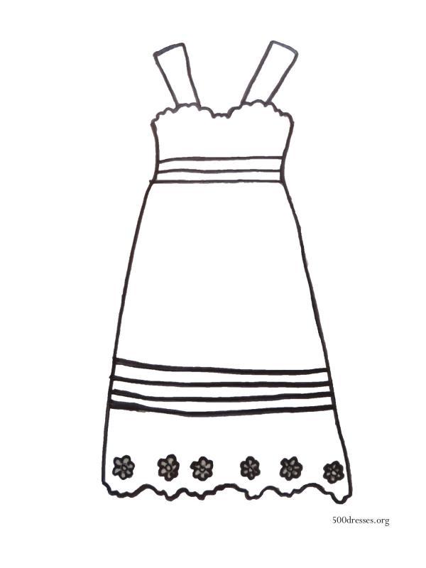 Dress coloring