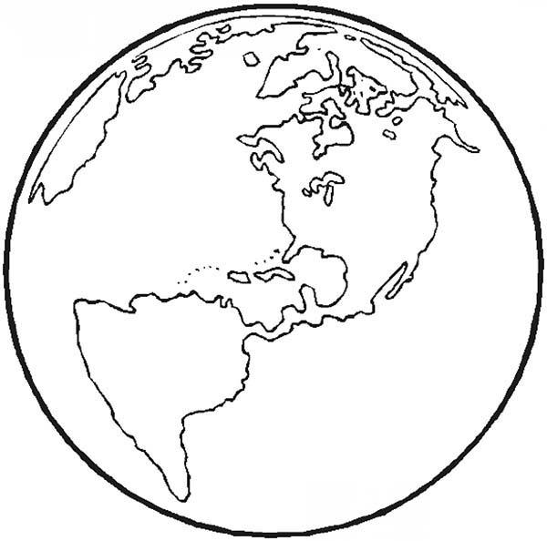 Earth coloring