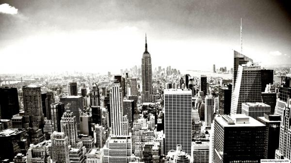 Empire City coloring