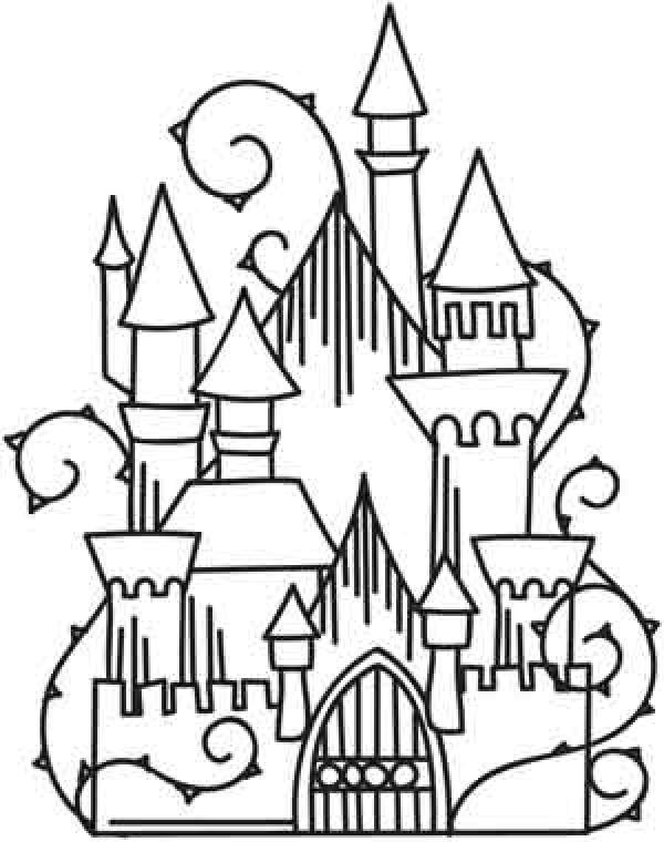Enchanted Castle coloring