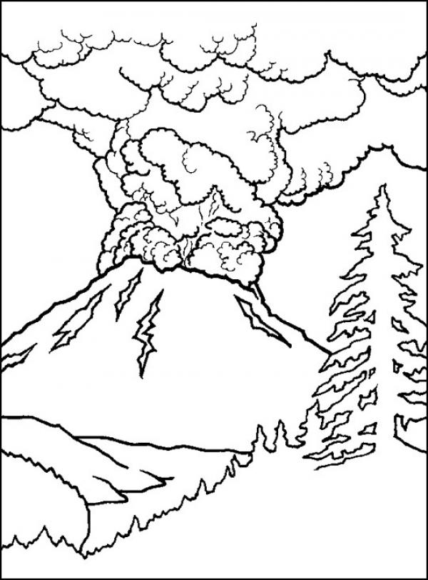 Volcanic Complex coloring