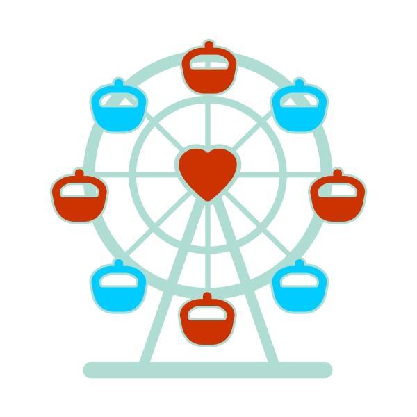 Ferris Wheel svg