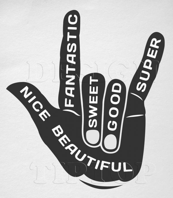 Finger svg