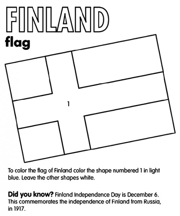Finland coloring