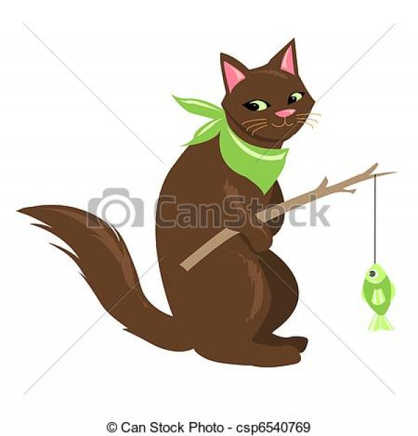 preview Fishing Cat clipart