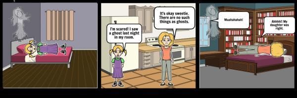 Ghostly Girl svg