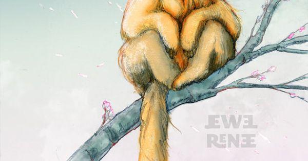 Golden Snub-nosed Monkey clipart