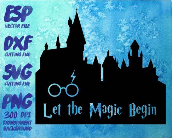 Hogwarts Castle svg
