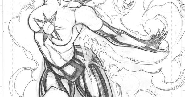 Jade (DC Comics) coloring