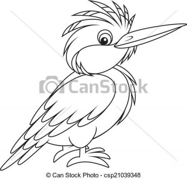 Kingsfisher clipart