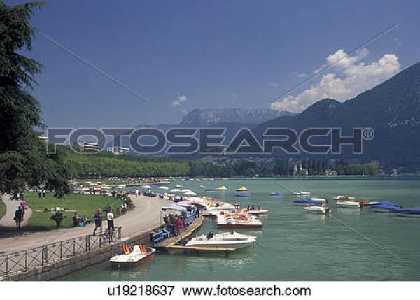 Lake Annecy clipart