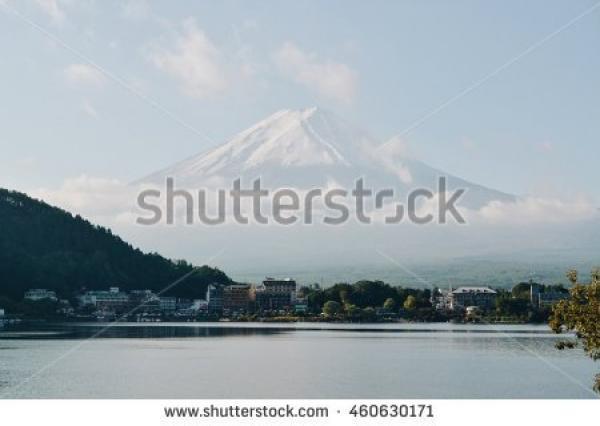 Lake  Kawaguchi coloring