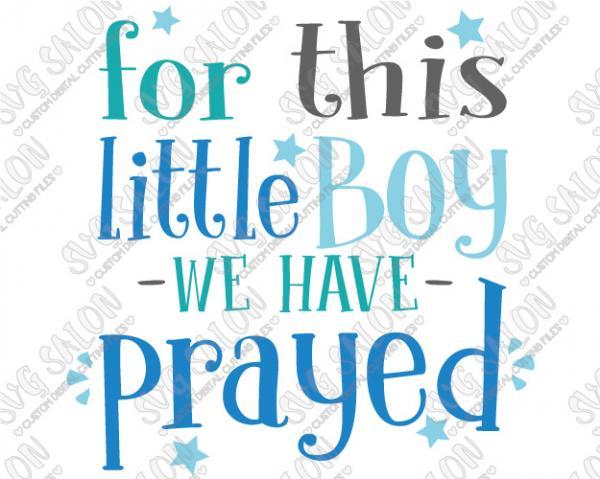 Little Boy svg