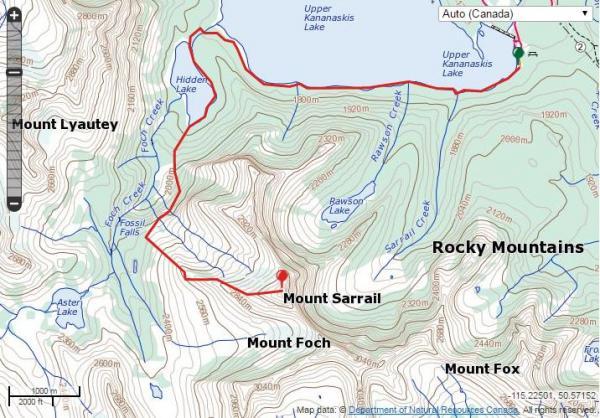 Mount Sarrail clipart