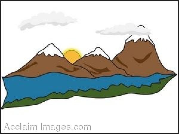 Mountain Ridge clipart