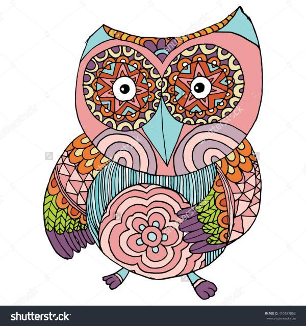 Owlfly clipart