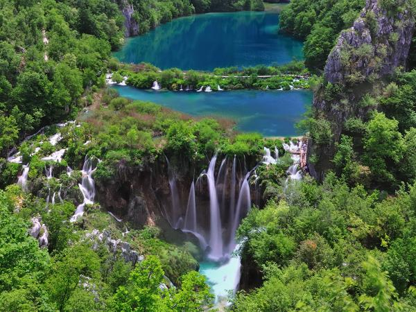 Plitivice Lake svg