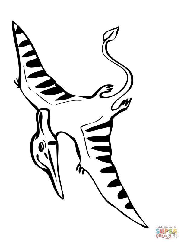 Pteranodon coloring
