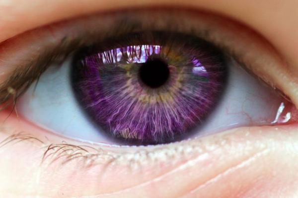 Purple Eyes coloring