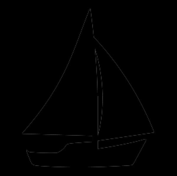 Sailboat svg