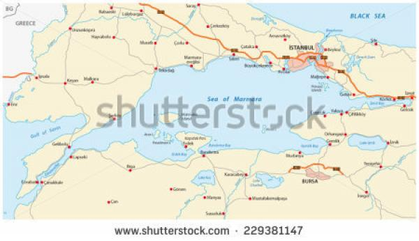 Sea Of Marmara coloring