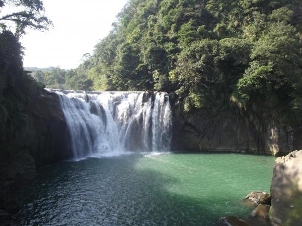 Shifen Waterfall clipart