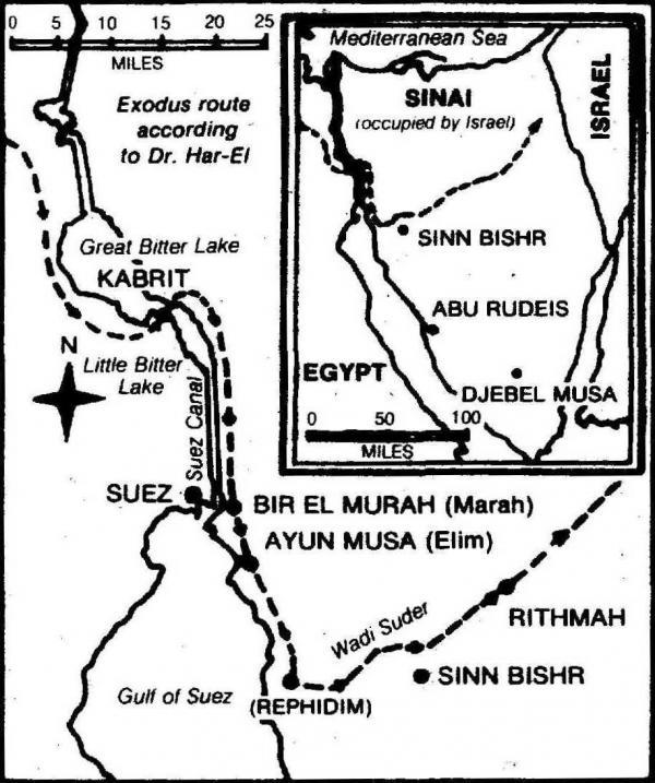 Sinai Peninsula coloring