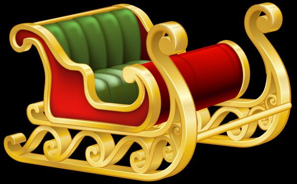preview Sleigh clipart