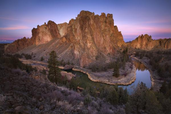 Smith Rock State Park svg