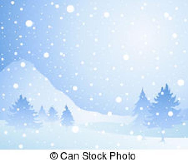 Snowfall clipart