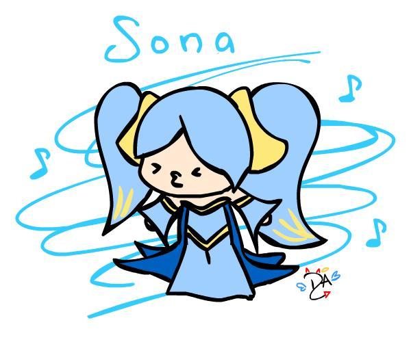 preview Sona (League Of Legends) clipart
