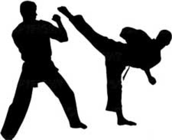 Sparring clipart