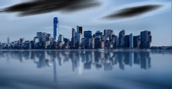 Surreal City! clipart