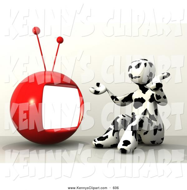 Television Ball  clipart