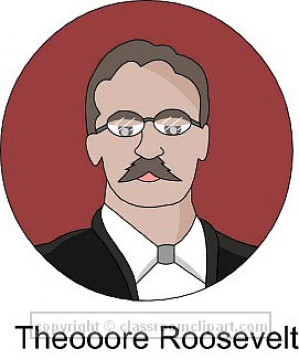 preview Theodore Roosevelt clipart