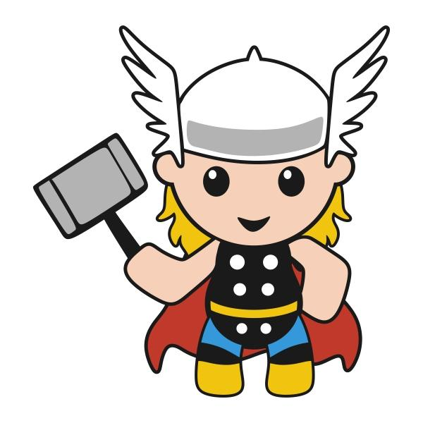 preview Thor svg