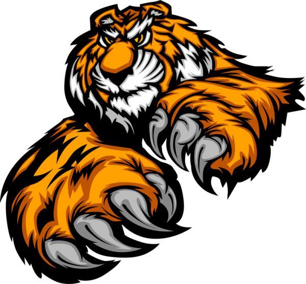 Tigre Bengala svg