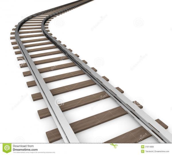 Tracks clipart