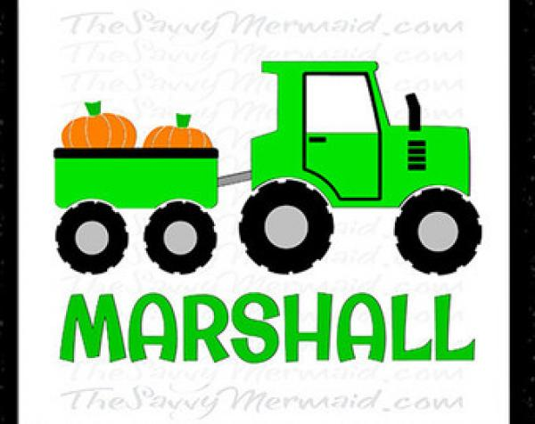 Tractor svg