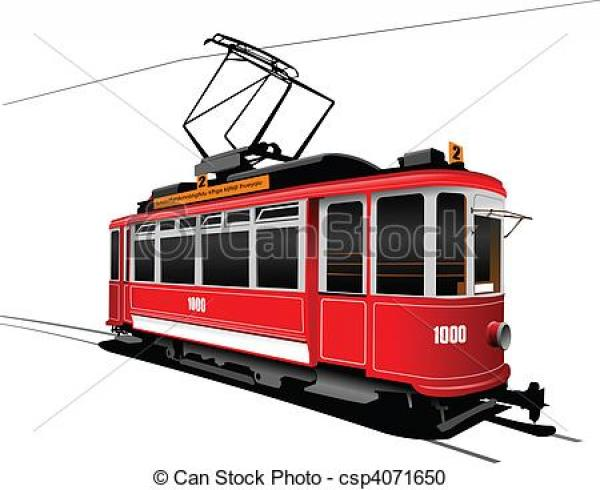 preview Tram clipart