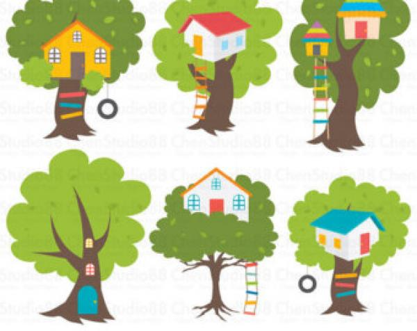 preview Treehouse clipart