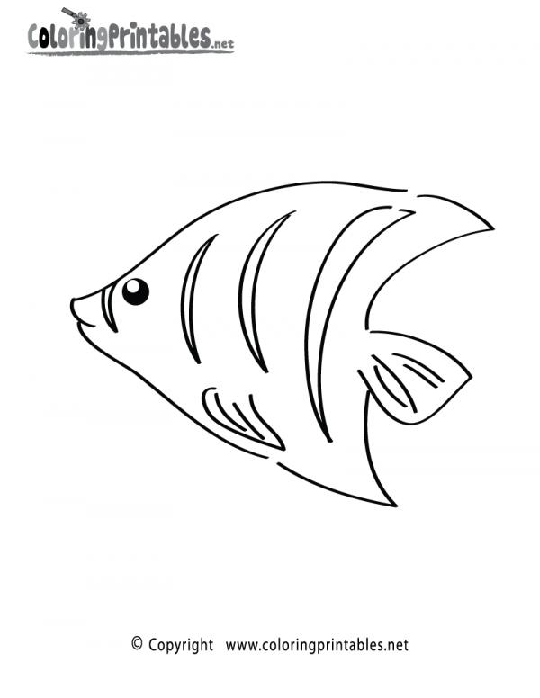 preview Tropical Fish coloring